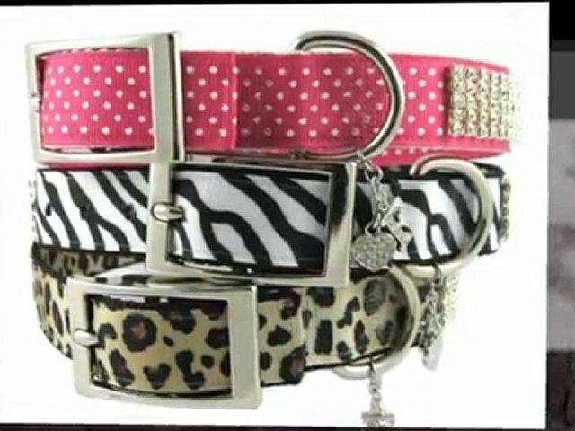 Rhinestone Dog Collars – FurryFashionista.com
