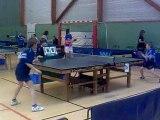 Tennis de table finale Quentin et Jules