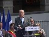 1er Mai 2010 : Discours de Jean-Marie LE PEN (FN)