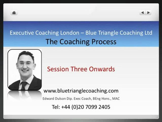Executive Coaching London – The Coaching Process