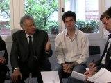 rencontre de Dominique De Villepin avec les internautes du réseau VillepinCOm
