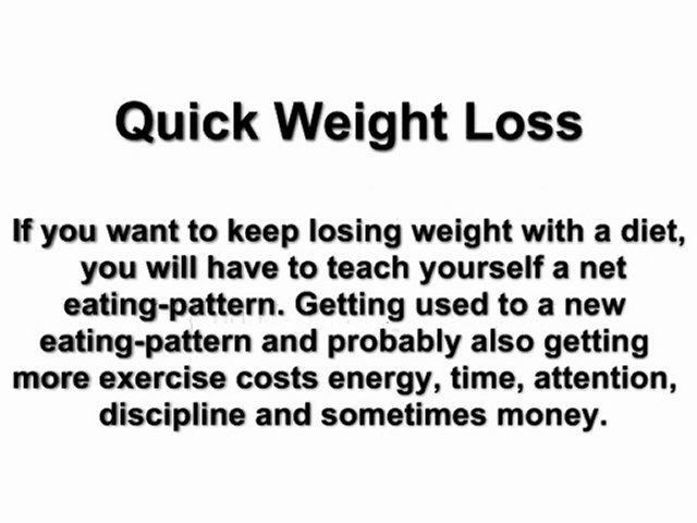 Quick Weight Loss, Loss Weight Fast