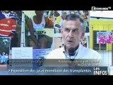 Exposition des jeux mondiaux de transplantés (Caen)