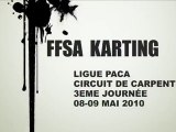 FFSA KARTING CARPENTRAS SONIC RACING KART