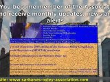 Sarbanes Oxley Act - Certified Sarbanes Oxley Expert (CSOE)