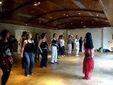Cours initiation danse orientale avec Aurore
