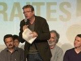Campagne des retraites : Pierre Laurent au meeting unitaire