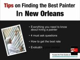 Painting Contractors New Orleans  | New Orleans Painters Gu