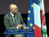 6 mai 2007, 6 mai 2010, 3 ans d'action pour la France
