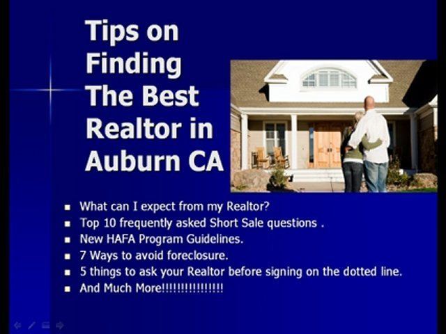 Auburn Real Estate – Real Estate Auburn CA