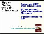 Madison Chiropractor Guide - Best Chiropractic Care in Madi