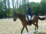 Adeline et Pacha Saint Mard Cl2 GP Andilly 9 Mai 2010