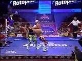 Azteca Jr., Diamante, Fabián vs Dr. X, Puma, Tiger