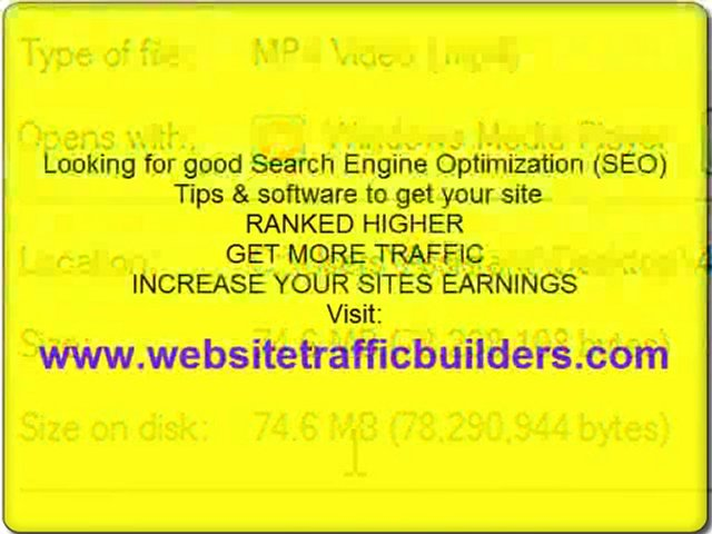 Search Engine Optimization Tips – Video Marketing