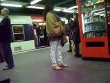 station RER chatelet les halles Paris 8 mai 2010