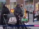 libertée de culte en suede voile niqab burqa