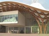 Ouverture du nouveau Centre Pompidou-Metz (Moselle Lorraine)