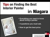 Interior Painter|Exterior House Painter|Niagara Painter Gui