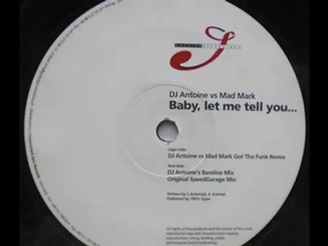 MAD MARK - BABY LET ME TELL YOU (Original Speedgarage Mix)