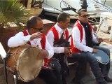 orchestre tunisien corteges des mariees . la troupe marhaban