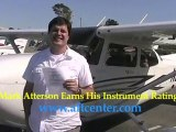 Accelerated Flight Training student earns  Instrument Rating