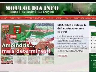 mouloudia.info une révolution en marche