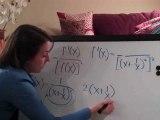 Reciprocal Rule f(x)=1 ((x+1 x)^2)