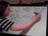 Quotient Rule f(x)=(1 (x+1))-(1 (x-1))