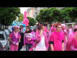 Rassemblement étudiant à Chambéry