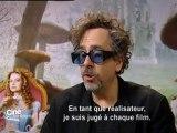 Tim Burton dans Ciné Confidential à Cannes