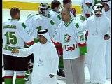 Team Algeria ice hockey in UAE - l'equipe Algérie aux EAU