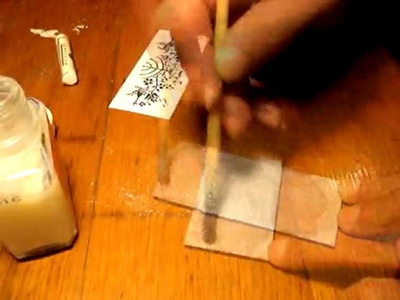 Transfert Photocopie Sur Bois comment transférer une photocopie laser sur du lino - vidéo