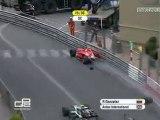 GP2 saison 2010 Monaco sprint race Gonzalez crash