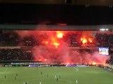 PSG - Montpellier -  Fumis