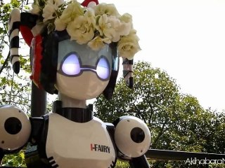 i-Fairy Robot officially wed a couple in Japan