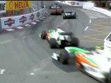 Schumacher VS Alonso - Adelantamiendo en Monaco