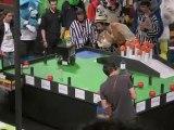 Eurobot 2010 quart finale France Microb / ESEO Chomp