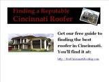 Cincinnati roofing for Cincinnati Roofing Contractors Best