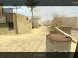 pro video game frag css full team awp dust2