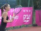 Tennis : Les Internationaux de Strasbourg vus par Maïlyne