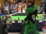 Eurobot 2010 demi finale France Eceborg / UART