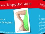 Chiropractor Birmingham - How to find a good Chiropractic i