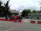Départ course de Solex #2 - Rock'n Solex 2010