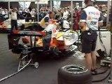 Allumage moteur formule 1 renault F1 team