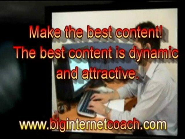 Big Internet Coach: Internet Business Strategy