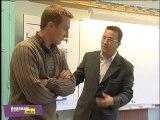 Yves Nicolin à l'école Paul Bert