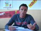 Interview Union Locale CGT La Seyne