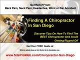 Chiropractic Adjustment in San Diego Find Chiropractor San