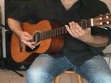 Cours de guitare : Une guitare d'accompagnement jouable sur Let the Sunshine in