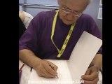Dédicace Moebius (Jean Giraud) à Japan Expo 2008